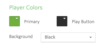 Player color options.